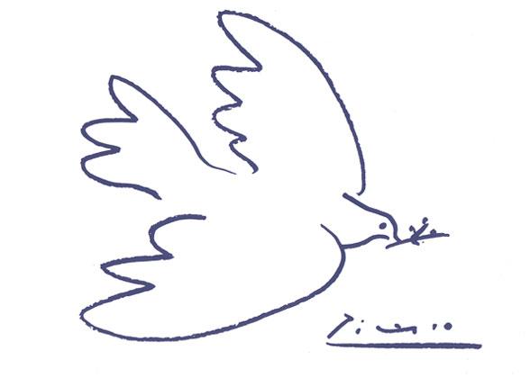 Голубь мира. Пабло Пикассо