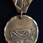 """Медаль """"Кованый Голубь Мира"""