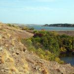 Вид на Ольховское водохранилище